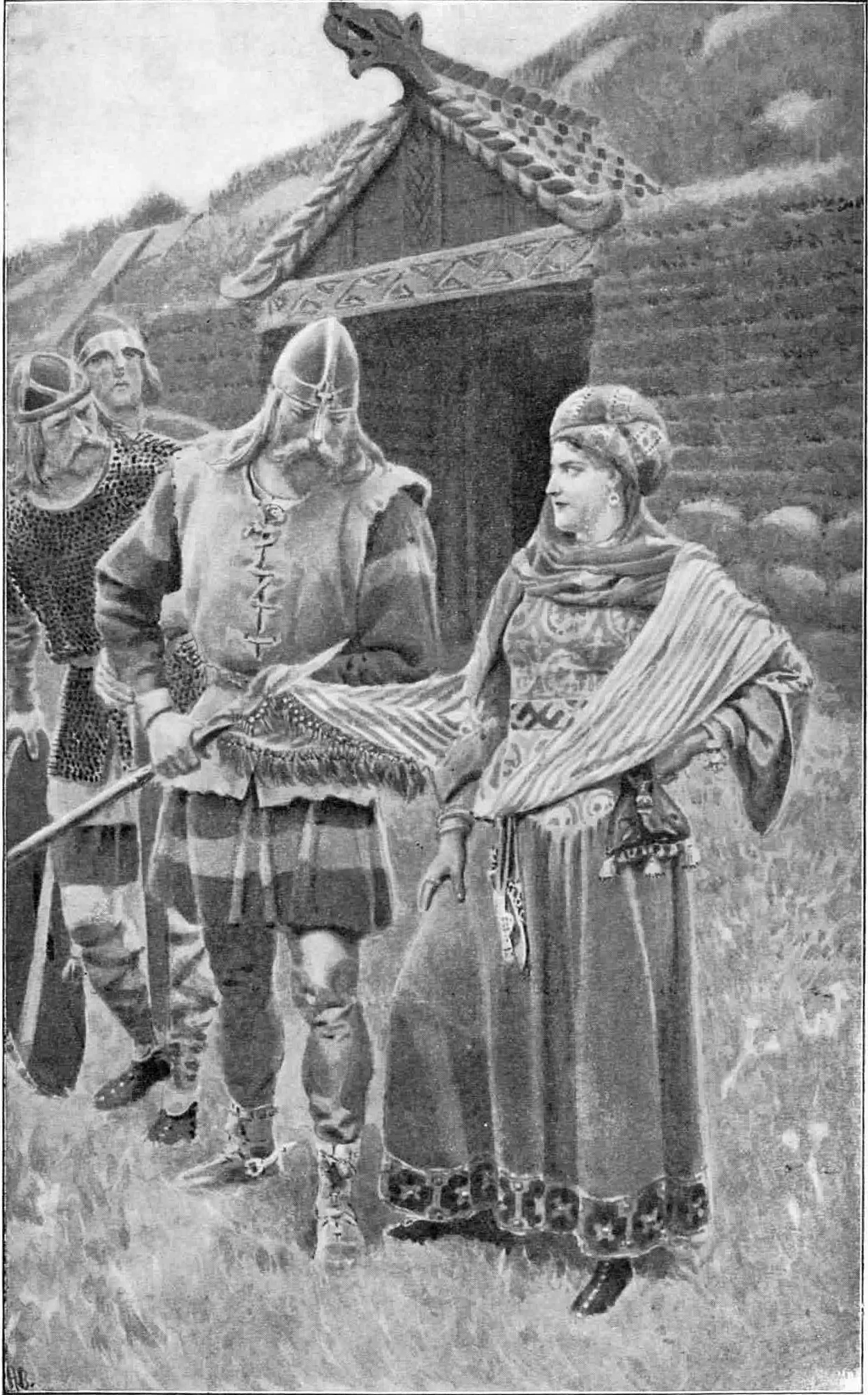 Gudrun_and_the_spear