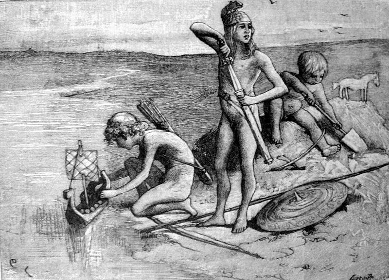 Los tres hijos de Manu, orígen de los germanos